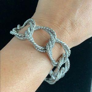 Jewelry - Silver Diamond bracelet